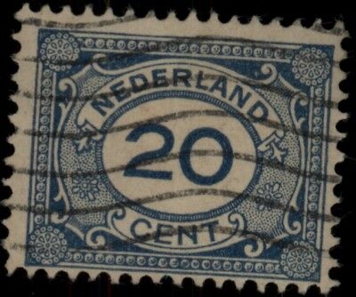 1921 Netherlands Sc#109 Used Cv$ *free Shipping*