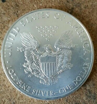2011 American Silver Eagle Dollar 1 oz Fine Silver Bullion USA Coin