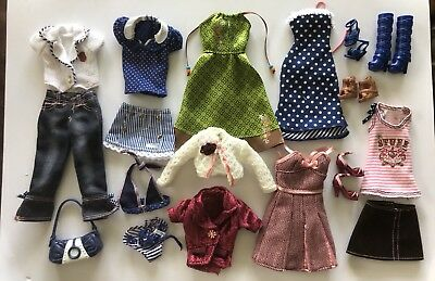 Big Lot Of Barbie Clothing Designed By Hilary Duff