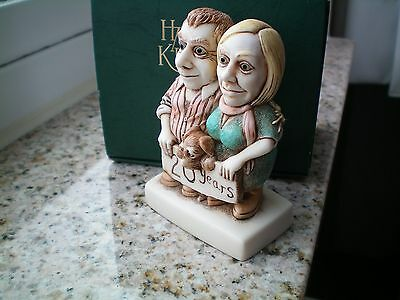 Harmony Kingdom NEW UK CONVENTION Event Cake Topper 20th Anniversary Celebration
