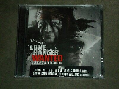 The Lone Ranger Music Inspired By The Film (CD, Jul-2013, Walt Disney) sealed