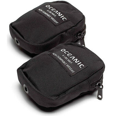 Oceanic Tank Band Pockets (Non Ditchable Weight Pockets) - Pair