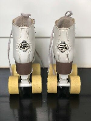 Girls Crazy Celebrity White Roller Skates
