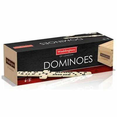 Waddingtons of London Wooden Games Dominoes Board Game