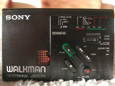 Sony WM-D3 Professional Walkman in Excellent Condition with Amazing Sound.