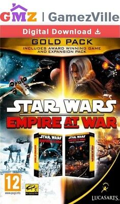 Star Wars: Empire at War Gold Pack Steam Key PC Digital Download