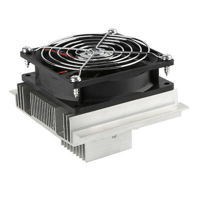 DC 12V Thermoelectric Peltier Cooler Refrigeration Cooling Fan Heatsink Kits BY1