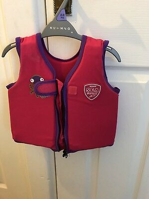 Girls Life Jacket / Floating Aid / Swimming Aid 1-2 Years