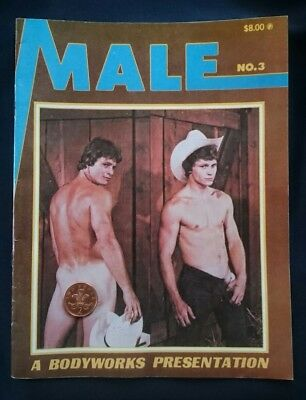 MALE Number 3 1978 RARE MAGAZINE / GAY, VINTAGE, PHYSIQUE, BEEFCAKE