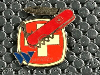 pins pin BADGE  DIVERS COUTEAU SUISSE KNIFE