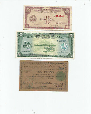 Philippines  Three  Notes