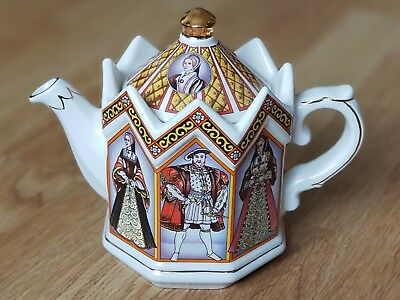 King Henry VIII And His Six Wives Sadler Teapot