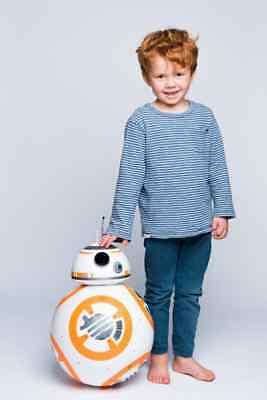 Star Wars Bb-8 Droid The Last Jedi Disney U-Command 1:1 Size Voice R/c Toy Gift