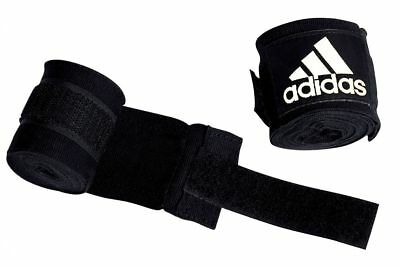 Adidas Boxing Hand Wraps 450cm Muay Thai Bandages Black Red Blue White AIBA 4.5m