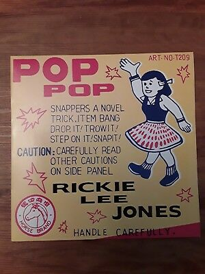 LP 180 g Vinyl Rickie Lee Jones Pop Pop Geffen 1991