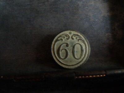 bouton militaire empire N°60