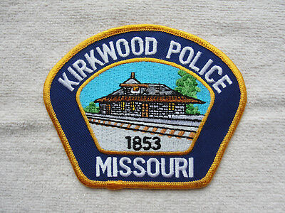 Kirkwood Missouri Police Patch - Railroad - Trains