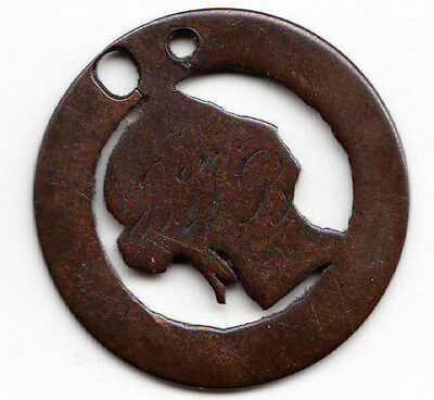"""Love Token - """"FWB""""(?) on Canadian Large Cent"""