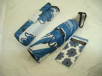 new brighton SHOWERS OF FLOWERS compact umbrella NWT W/MATCHING SLEEVE NWT