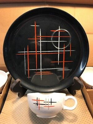 Salem China Jack Straw Constellation Hard to Find Snack Set in BOX!