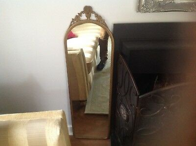 Heavy metal Antique Gold Wall Mirror Vintage Style Bedroom/hallway selling other
