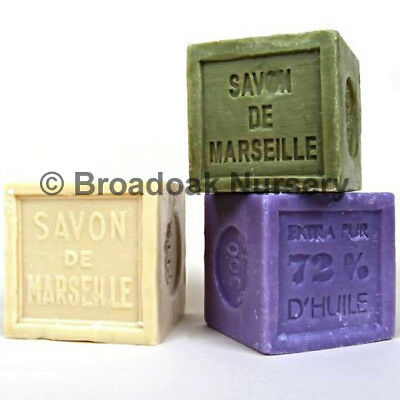 Traditional SAVON DE MARSEILLE Cube 300g French Soap Natural Vegetable Soap