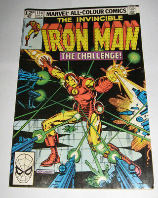 The Invincible IRON MAN Marvel Comic issue 134