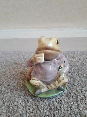 Beswick Beatrix Potter figure Mr Jeremy Fisher - excellent condition no box