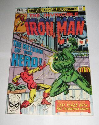 The Invincible IRON MAN Marvel Comic issue 135