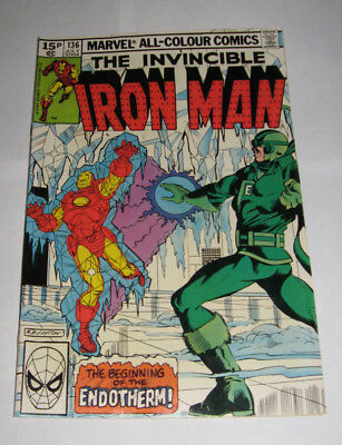 The Invincible IRON MAN Marvel Comic issue 136