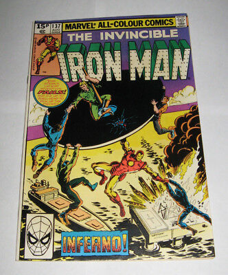 The Invincible IRON MAN Marvel Comic issue 137