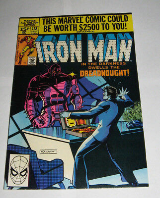 The Invincible IRON MAN Marvel Comic issue 138