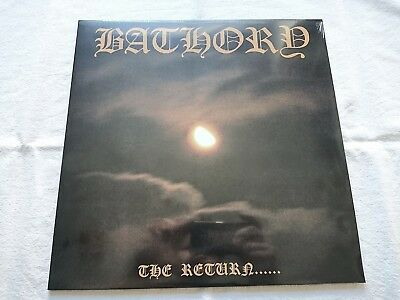 Bathory The Return ...Re-Issue LP Black VINYL (Celtic Frost Hellhammer Venom...