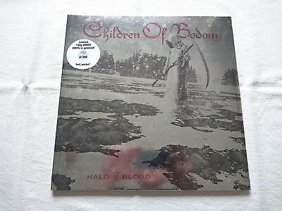 Children Of Bodom Halo Of Blood GF LP White Vinyl (Necrodeath In Flames Sleagt
