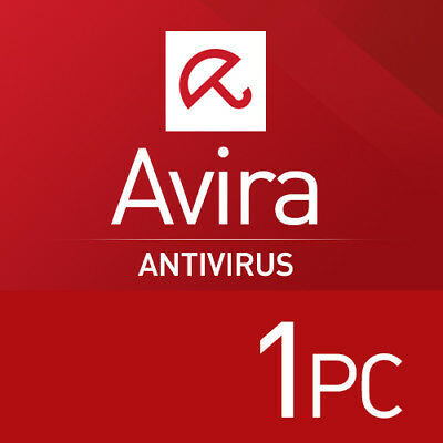 Avira Antivirus Pro 2018 1 PC 1 Jahr  VOLLVERSION  NEU 2017 EU DE Lizenz