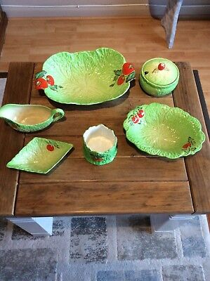 Beswick Lettuce Leaf 6 assorted items all in v good condition+ 2 Free Items