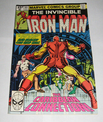 The Invincible IRON MAN Marvel Comic issue 141