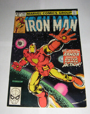 The Invincible IRON MAN Marvel Comic issue 142