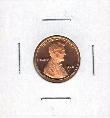 1979-S Type 2 Proof Lincoln Cent (Some Fly Specks)