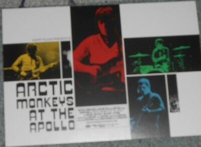 ARCTIC MONKEYS AT THE APOLLO (Promo Postcard - VUE Cinema)