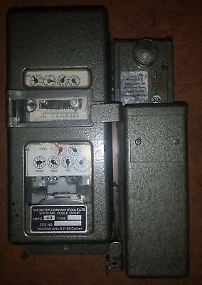 Vintage Coin Operated Electricy Meter 50P old style