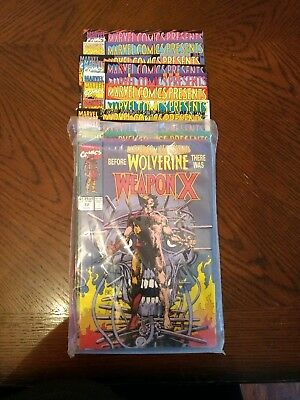 Marvel Comics Presents: Weapon X Issues 72 - 84 complete run
