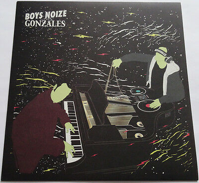 """BOYS NOIZE Chilly Gonzales WORKING TOGETHER 12"""" Vinyl RSD 2011 276/500 Beaks"""