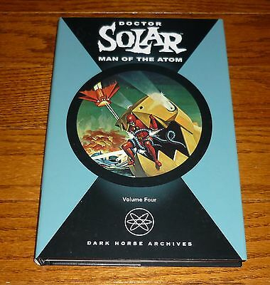 Doctor Solar Man of the Atom Archives Volume 4, NEW, Dark Horse hardcover book