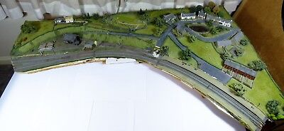 N Gauge Fully Scenic Village layout Section (Magazine Featured) UNBOXED