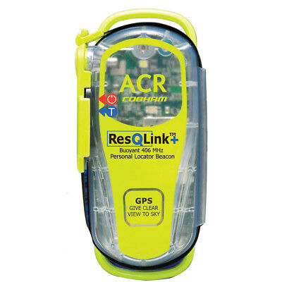 ACR ResQLink+™ 406 MHz GPS PLB Floats w/o Pouch - *Case of 4* 2881CASE