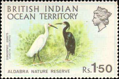 British Indian Ocean Territory #39-42 set MNH