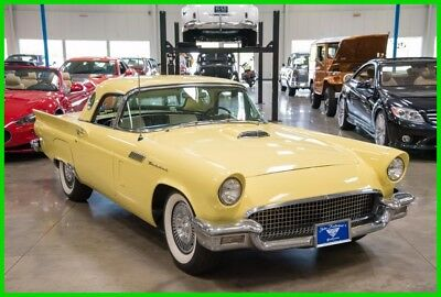 1957 Ford Thunderbird 2dr Conv w/Hardtop Deluxe 1957 Thunderbird E-Code 312-cid V8 Convertible Soft and Hardtop 57 2-Owner Car