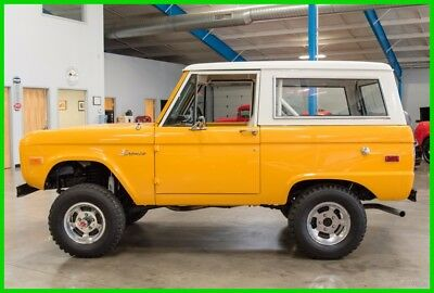 1975 Ford Bronco  1975 Ford Bronco 4x4 302 cid V8 Automatic Fully Restored 75