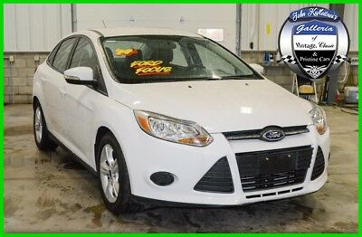 2014 Ford Focus 4dr Sdn SE 2014 4dr Sdn SE Used 2L I4 16V Automatic FWD Sedan LCD